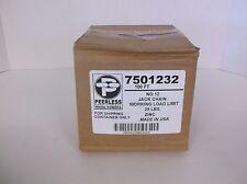 NEW Peerless Jack Chain No. 12 Working Load Limit 29lbs Zinc 100ft 48RR69 (B75S)