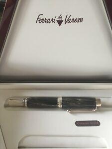 Great Ferrari da Varese Jumbo rollerball pen sterling silver and horn