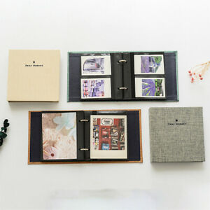 100 Pockets 3 Inch Photo Album Book Binder For Instax Mini 11 9 8 7s 90 70`
