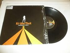 "MARIAH CAREY - It's Like That - 2005 UK 3-track promotional 12"" vinyl single"
