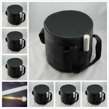 7 BLACK CARRYING CASE FOR 8''-14''SET OF 7 FROSTED CRYSTAL SINGING BOWLS