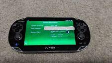 Sony PS Vita PCH-1001 OLED 3.65 Henkaku H-Encore 8GB with 10 Vita Games + Retro
