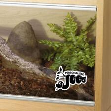 Customised Snake Tank Vinyl Decal Sticker Reptile Vivarium Glass Car Window