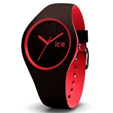 Ice-Watch ICE duo chocolat coral medium Uhr Damenuhr Kautschuk braun 012972