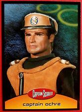 CAPTAIN SCARLET - Card #22 - Captain Ochre - Cards Inc. 2001