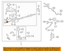 TOYOTA OEM-Brake Pressure Metering Proportioning Valve 8963760020