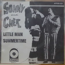 SONNY AND CHER LITTLE MAN PROMO FRENCH SP ATCO-23 1966