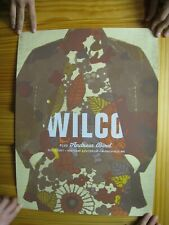 Wilco Poster Minneapolis Signed Numbered Flora Fauna