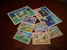Collection lot Liberia Flight stamps (Scott #794-800, C219)