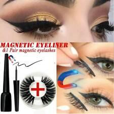 4D Magnetic liquid Eyeliner And Magnetic False Eyelashes Easy to Wear Lashes KIT