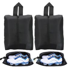 2x Travel Shoe Bags Zip Pouch Storage Organizer Waterproof Bag Shoes Case Box