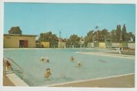 Unused Postcard Recreational Swimming Pool Outwater Park Lockport New York NY