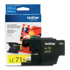 Genuine Brother LC71 Yellow ink 71 LC71Y J425W J430W J435W J625DW J825DW J835DW