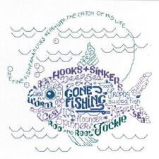 Consente di andare a pescare cross stitch chart