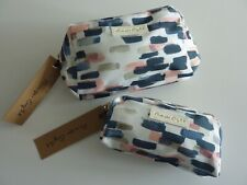PHASE EIGHT JINI SET OF 2 WASH BAGS NWT