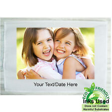 Tea Towel Photo Personalised Anniversary Daddy Grandad Granny Nanny Mummy Gift