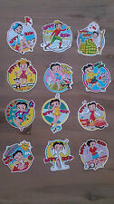 Betty Boop stickers stickerset vintage set comic