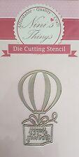 Nini's Things Happy birthday no.2 cutting stencil set die dies Elegant scrapbook