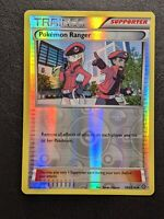 Pokemon Ranger 104/114 - Uncommon - Reverse Holo Pokemon XY Steam Siege MINT