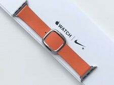 GENUINE APPLE WATCH MODERN LEATHER BUCKLE - SUNSET 38/40mm S **RARE**