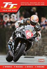 Isle of Man TT - Official Review 2008 (New 2 DVD Set) McGuinness Donald Anstey