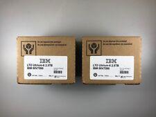 NEW- IBM LTO-6 ULTRIUM (10 PACK) 00V7590 DATA TAPE CARTRIDGE - FACTORY SEALED