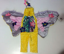 Darling Petables Plush Yellow Butterfly Girls Child Costume - 2T - New With Tags