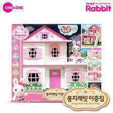 Konggi Rabbit Korean Two-Story House Kids Cute Couple Family Baby Doll Toy