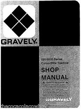 Gravely Professional 8 10 12 16 HP 2 Wheel Two Wheel Tractors SERVICE MANUAL
