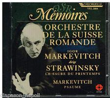 Stravinsky: Le Sacre Du Printemps (La Sagra della Primavera) / Markevitch - CD