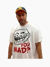 Mens You Mad? Still Mad Troll Face Shirt New S