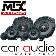 MTX BMW E & F SERIES, MINI, X3, X5 Underseat Subwoofer & Front Door Car Speakers