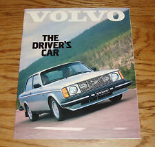 Original 1980 Volvo Drivers Car Full Line Sales Brochure 80 Bertone GLE GL GT DL
