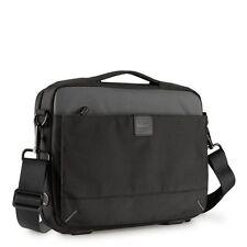 Housses et sacoches sac bandoulière noirs en nylon pour ordinateur portable