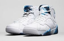 2015 Nike Air Jordan 7 VII Retro French Blue Size 13. 304775-107 1 2 3 4 5 6