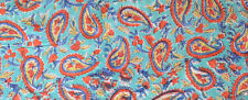 Indian Hand Block Print Sanganeri Running Pure Cotton Fabric New Craft 3 Yard
