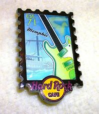 Hard Rock Cafe MEMPHIS POSTAGE STAMP SERIES PIN 2013 LE250
