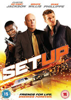 Set Up DVD (2011) Bruce Willis, Gunther (DIR) cert 15 ***NEW*** Amazing Value