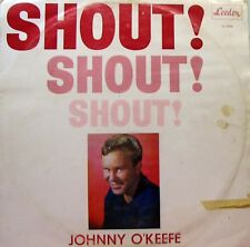 JOHNNY O'KEEFE Shout! Shout! Shout! LP Leedon   SirH70