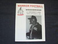 1984 high school football program University at Woodbridge Warriors, Irvine