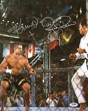 Kimo Leopoldo & Royce Gracie Signed UFC 3 11x14 Photo PSA/DNA COA Picture Auto'd