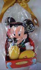 Stuffed Mickey Mouse Disney 1999 Winter Plush Doll Toy