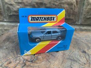 Vintage Matchbox model Mercedes-Benz W124 Saloon 300E boxed MB 58