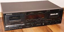 PIONEER CT-W601R Stereo Kassettendeck Doppel-Kassetten-Deck / Tapedeck