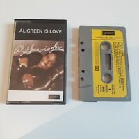 AL GREEN IS LOVE CASSETTE TAPE 1975 YELLOW PAPER LABEL LONDON HI UK