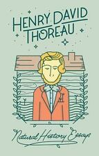 NATURAL HISTORY ESSAYS By Henry David Thoreau -Beautiful Hardcover Collectible