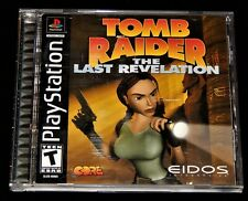 Video Game. Playstation Tomb Raider: The Last Revelation, Ps1, Action Adventure
