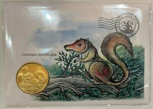 Bioco island 2021 5 dollars Cronopio dentiacutus