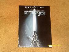 John Williams sheet music Luke and Leia from Star Wars: Return Of The Jedi 1983