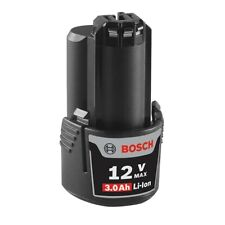 Bosch OEM 12 Volt Max Lithium-Ion 3.0 Ah Battery # GBA12V30